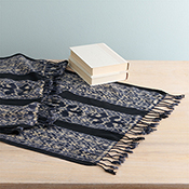 Dreamy Ikat Table Runner