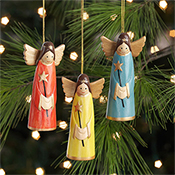 Smiling Angel Ornaments