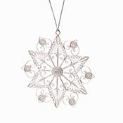 Filigree Snowflake Ornament