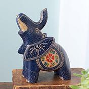 Blue Elephant Batik Animal