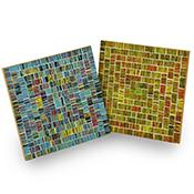 Mod Mosaic Trivet Set