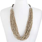 Sandy Multi-Strand Necklace