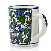 Blue Violet Vine Mug