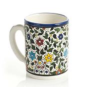 West Bank Blue Floral Mug