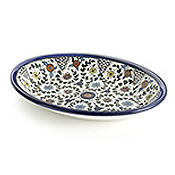 west bank medium oval tray