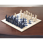 Safari Soapstone Chess Set