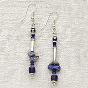 Blue Lulu Earrings