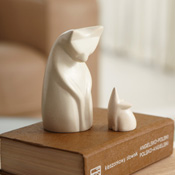 Soapstone Cat & Mouse