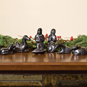 Carved Soapstone Nativity