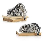 Set of 2 Savanna Shelf Sitters
