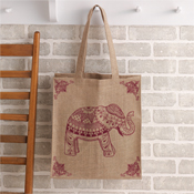 Elephant Shopping Bag