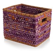 Plum Chindi Wrap Basket