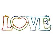 Love Wall Word