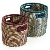Bicolor Basket Set