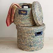 Riverside Round Basket Set