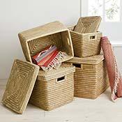 Medium Nesting Kaisa Grass Baskets