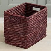 Amethyst Rectangle Basket