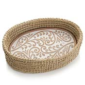 Double Vine Bread Warmer & Basket
