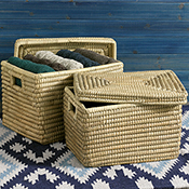 Nesting Kaisa Grass Baskets Set