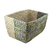 Two-Tone Storage Basket