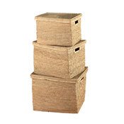 Nesting Kaisa Grass Set of 3 Baskets
