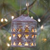 Small Geo Garden Lanterns