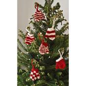 Mittens Ornament Set