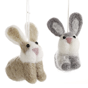 Felted Easter Bunnies