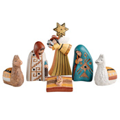 Traditional Peruvian Nativity