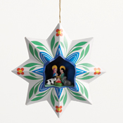 Christmas Star Nativity Ornament