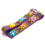 Violet Floral Belt