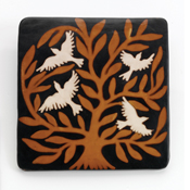 Tree of Chulucanas Wall Tile