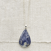 Blue Skies Pendant Necklace
