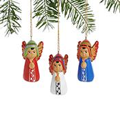 Petite Peruvian Angel Ornaments