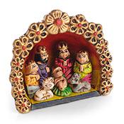 Peruvian Ornament Nativity
