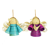 Buri Angel Ornament Set