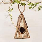 Ipil-Ipil Triangle Birdhouse