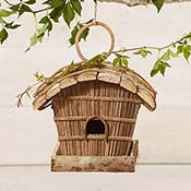 Ipil-Ipil Rounded Roof Birdhouse