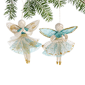 Praying Angels Ornament Set