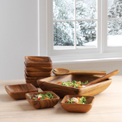 Acacia 10-Piece Salad Set