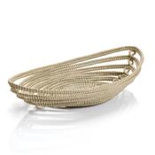Open Weave Boat Basket