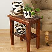 Set of 3 Rwandan Baskets