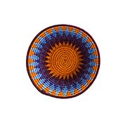 African Sunset Small Sisal Basket