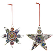 Colorwrap Sun & Star Ornaments