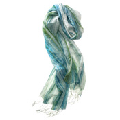 Sea Breeze Shibori Scarf