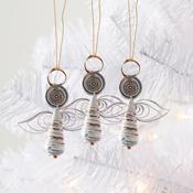 Good News Angels Ornament Set