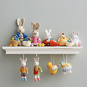 Crocheted Bunny Buddies