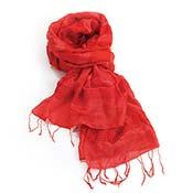 Softer Than Silk Ruby Scarf