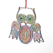 Owl Colorwrap Ornament