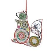 Squirrel Colorwrap Ornament